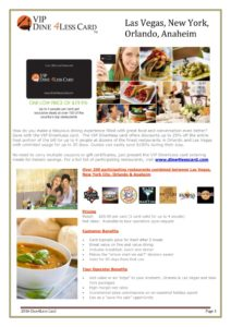 thumbnail of 177-Trade Info Sheet for VIP Dine 4Less Cards Kids Eat FREE Card and Shop And Dine Las Vegas Card