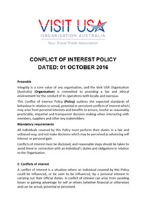 thumbnail of Conflicts of Interest Policy Final for Dating